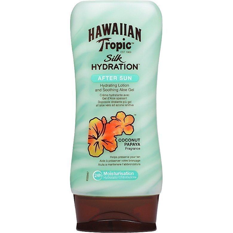 Hawaiian Tropic Silk Hydration After Sun Hydration Lotion With Soothing Aloe Gel 180ml