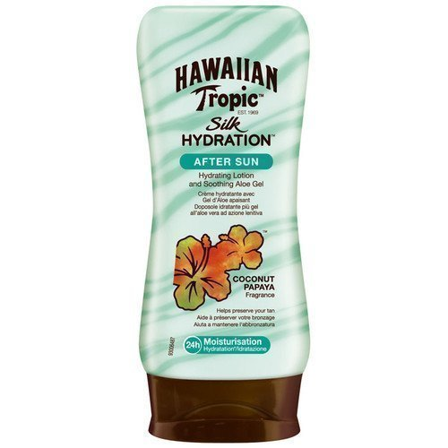 Hawaiian Tropic Silk Hydration After Sun Hydration Lotion with Soothing Aloe Gel
