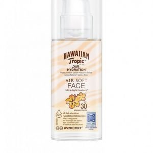 Hawaiian Tropic Silk Hydration Air Soft Face Sun Lotion Spf 30 50 Ml Aurinkosuoja Valkoinen