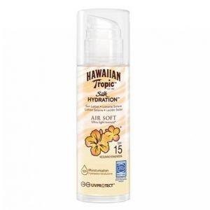 Hawaiian Tropic Silk Hydration Air Soft Pump Sun Lotion Spf 15 150 Ml Aurinkovoide