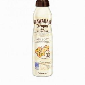 Hawaiian Tropic Silk Hydration Air Soft Spray Spf 30 180 Ml Aurinkosuoja