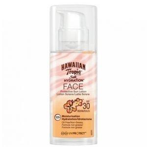 Hawaiian Tropic Silk Hydration Face Lotion Spf 30 Aurinkovoide