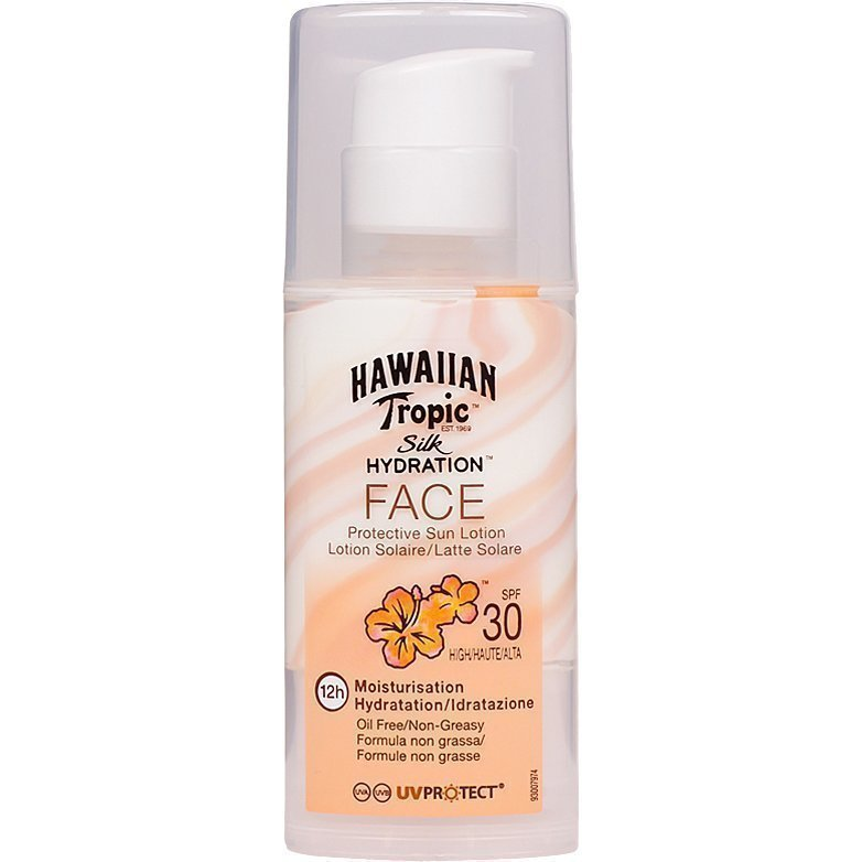Hawaiian Tropic Silk Hydration Face Protective Sun Lotion SPF30 50ml