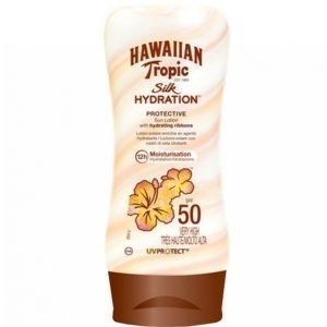 Hawaiian Tropic Silk Hydration Lotion Spf 50 Aurinkovoide