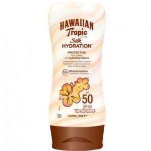 Hawaiian Tropic Silk Hydration Lotion Spf 50 Aurinkovoide