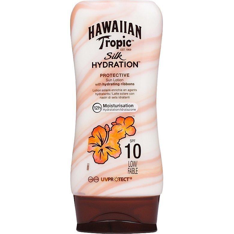 Hawaiian Tropic Silk Hydration Protective Sun Lotion SPF10 180ml