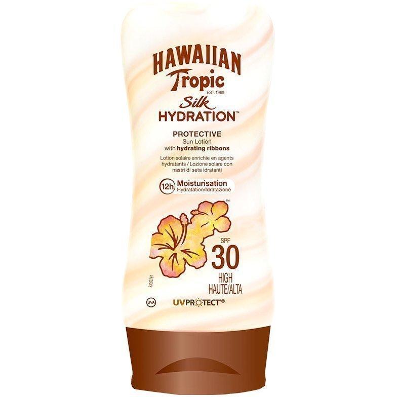 Hawaiian Tropic Silk Hydration Protective Sun Lotion SPF30 180ml