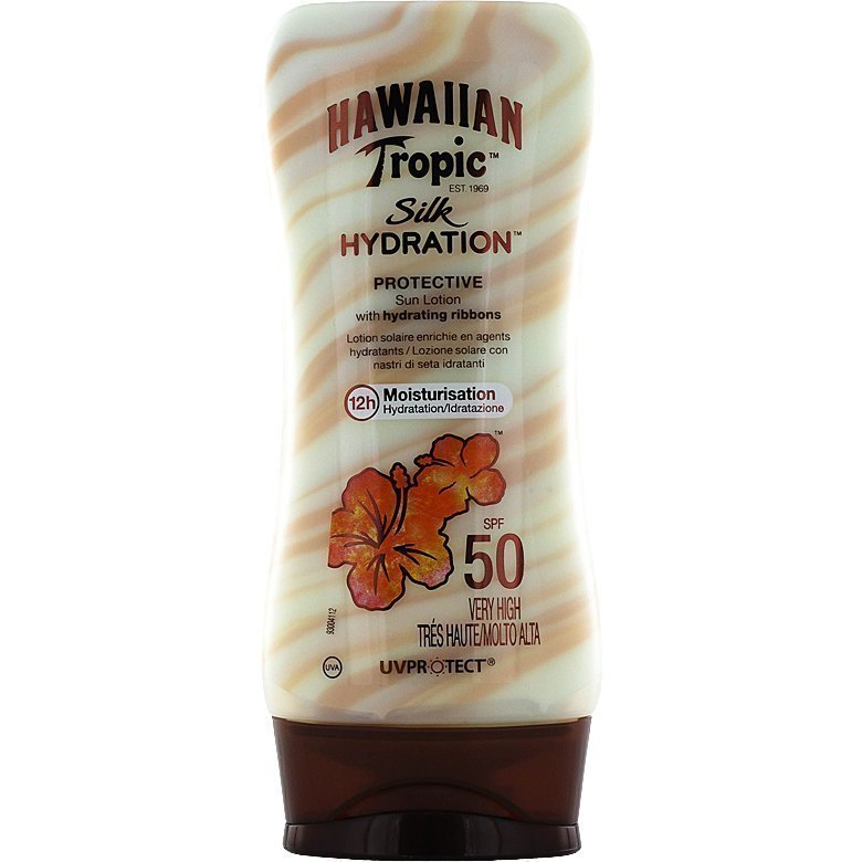 Hawaiian Tropic Silk Hydration Protective Sun Lotion SPF50 180ml