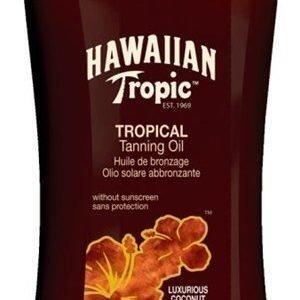 Hawaiian Tropic Tan Oil Dark SPF 0