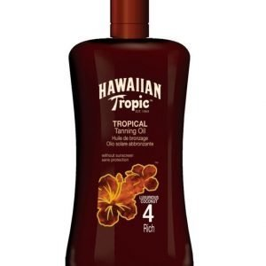 Hawaiian Tropic Tanning Oil Rich 200ml