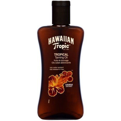 Hawaiian Tropic Tanning Oil SPF 4 Rich