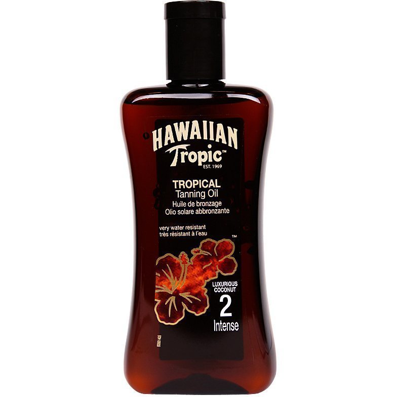 Hawaiian Tropic Tropical Tanning Oil Intense SPF2 200ml