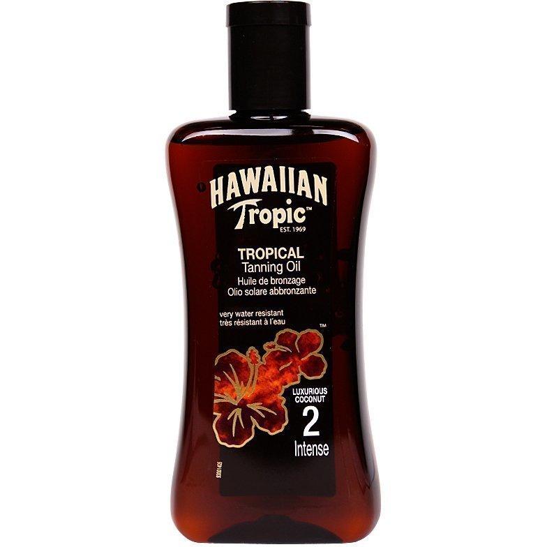 Hawaiian Tropic Tropical Tanning Oil Intense SPF2 200ml