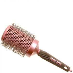 Head Jog Pink Ceramic Ionic Radial Brush 80 80mm