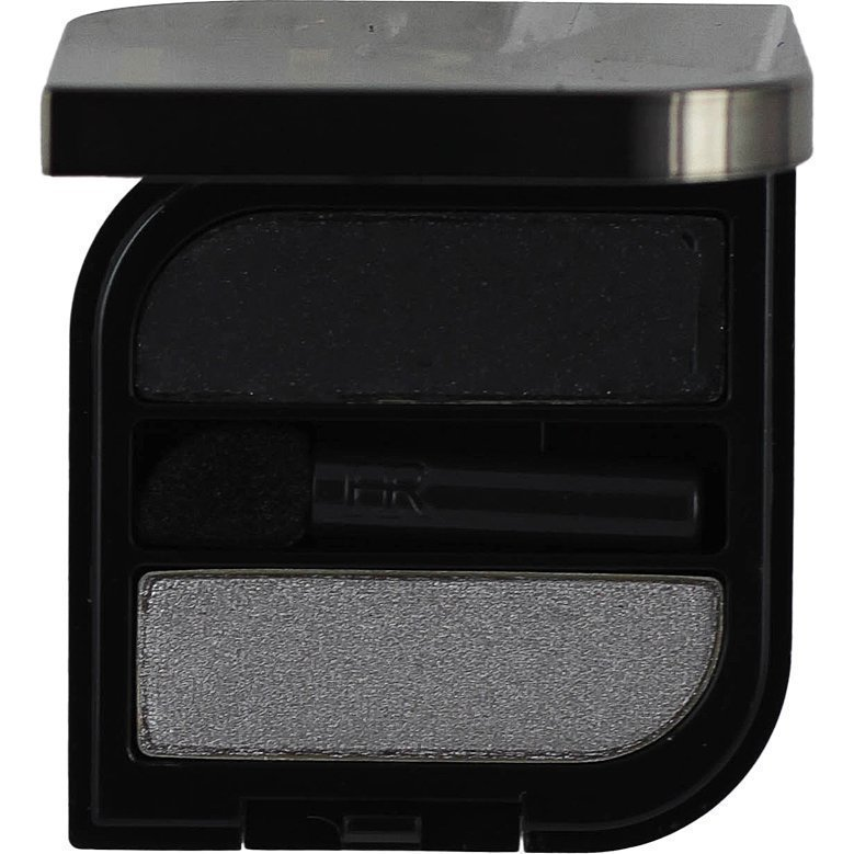 Helena Rubinstein Wanted Eyes Color Duo 56 Charming Silver & Fatal Black 2x1