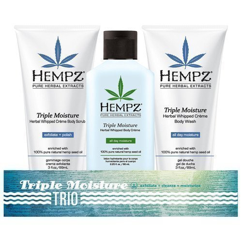Hempz Bath & Body Travel Trio Triple Moisture