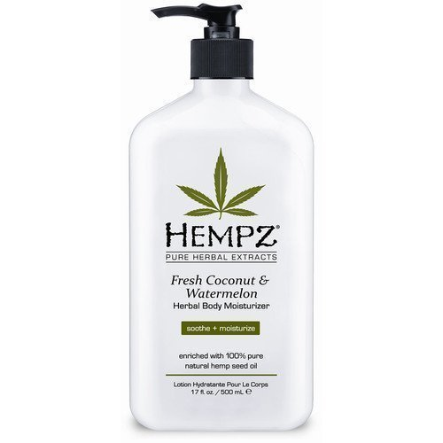 Hempz Herbal Body Moisturizer Fresh Coconut & Watermelon 500 ml