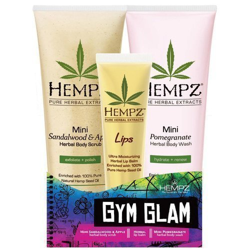 Hempz Herbal Gym Glam Kit