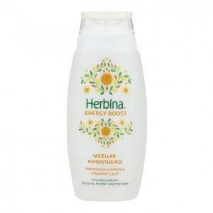Herbina Energy Boost Micellar Puhdistusvesi 200 Ml