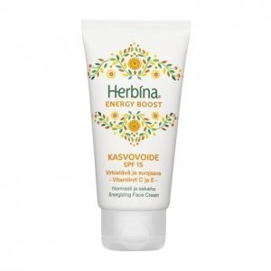 Herbina Energy Boost Spf 15 Kasvovoide 50 Ml