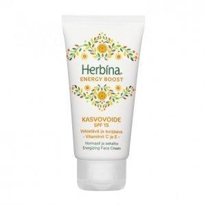 Herbina Energy Boost Spf 15 Kasvovoide 50 Ml