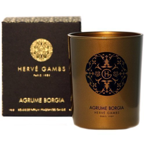 Hervé Gambs Ambre Borgia Fragranced Candle