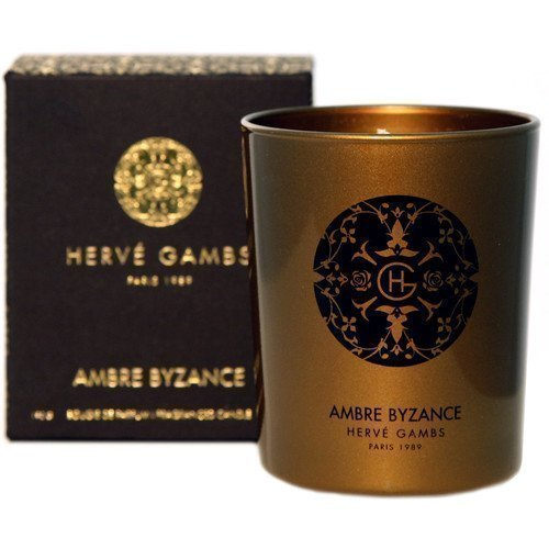 Hervé Gambs Ambre Byzance Fragranced Candle