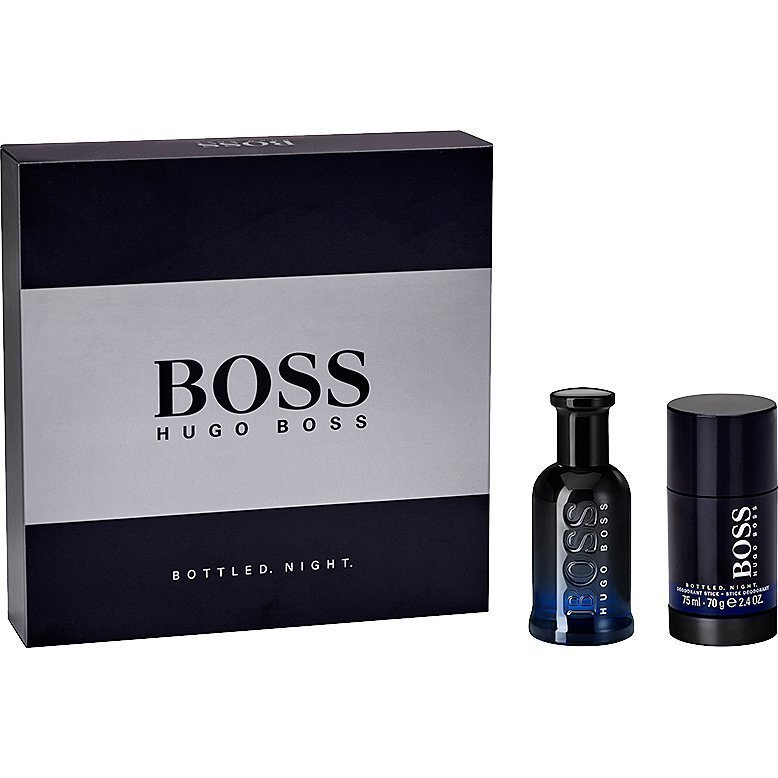 Hugo Boss Boss Bottled Night EdT 50ml Deostick 75ml