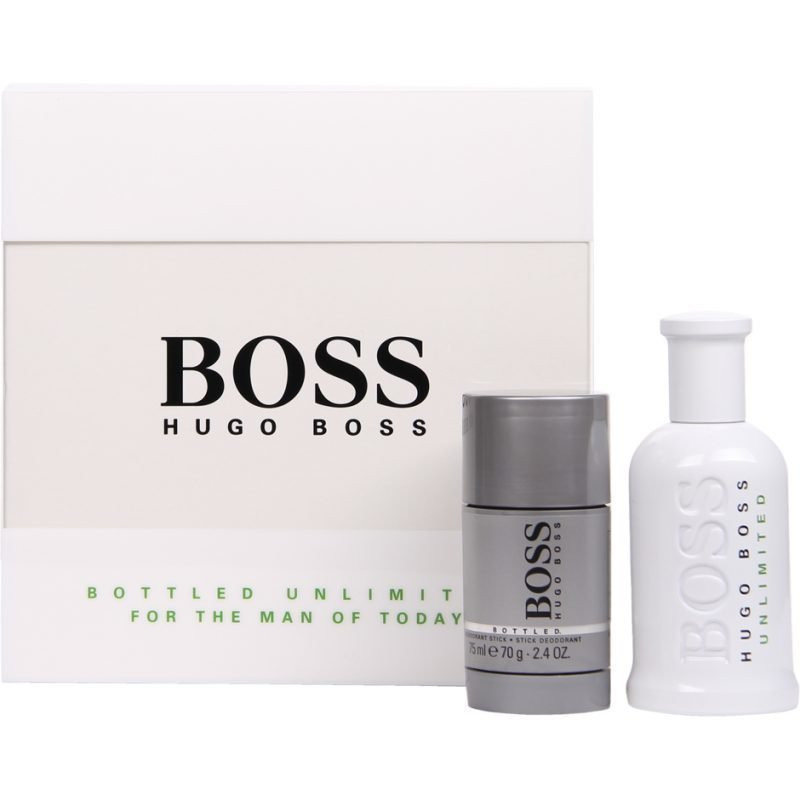Hugo Boss Boss Bottled Unlimited EdT 100ml Deostick 75ml