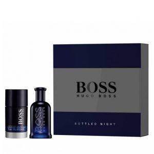 Hugo Boss Bottled Night Edt 50 Ml + Deostick 75 Ml Lahjapakkaus