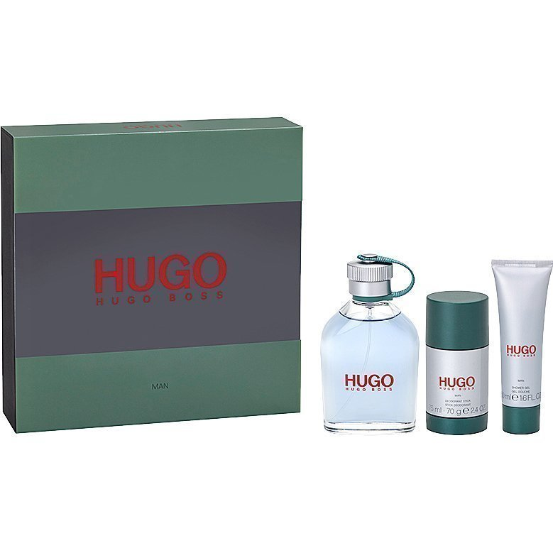 Hugo Boss Hugo EdT 125ml Deostick 75ml Shower Gel 50ml