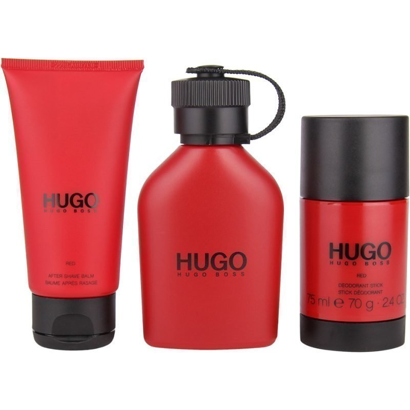 Hugo Boss Hugo Red Trio EdT 75ml Deostick 75ml After Shave Balm 75ml