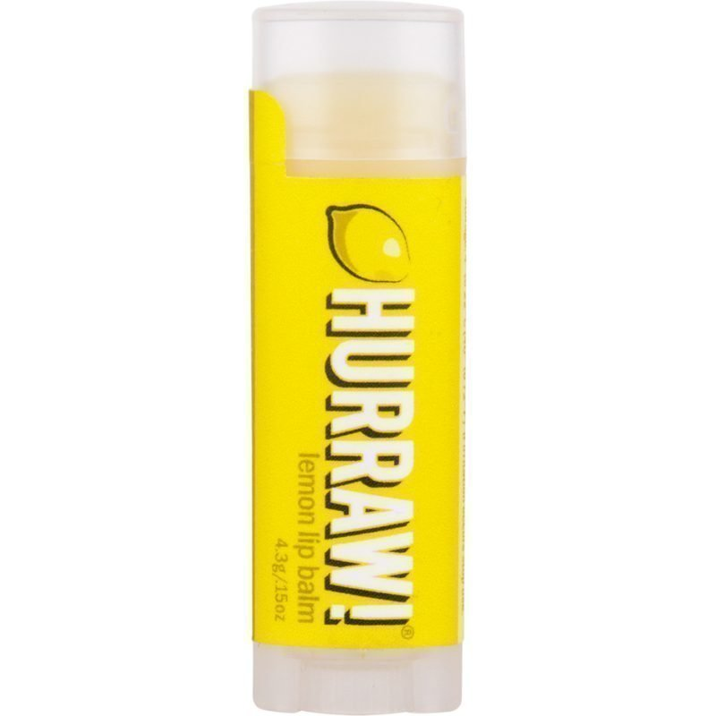 Hurraw! Lemon Lip Balm 4