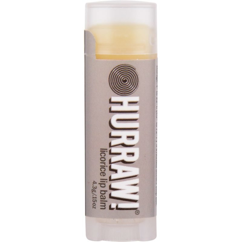 Hurraw! Licorice Lip Balm 4