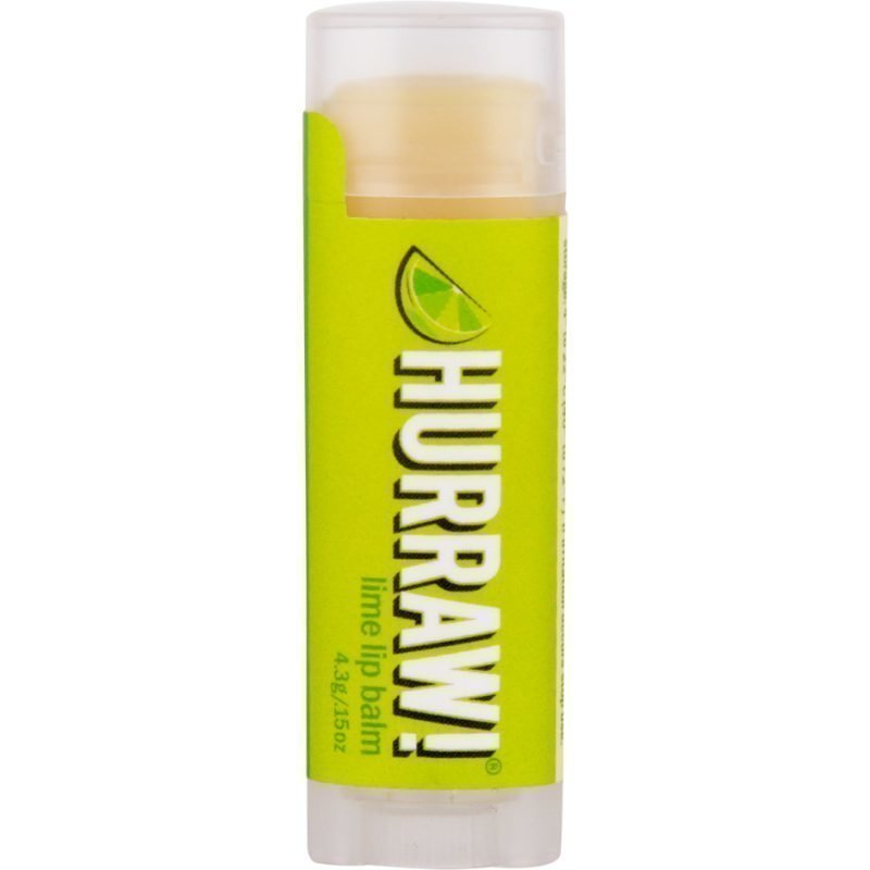 Hurraw! Lime Lip Balm 4