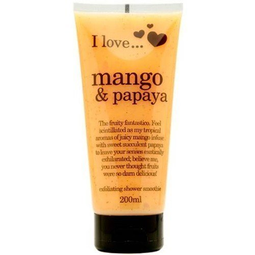 I Love... Mango & Papaya Exfoliating Shower Smoothie