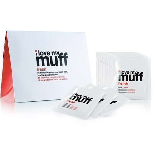 I Love My Muff Fresh Wipes 25 kpl
