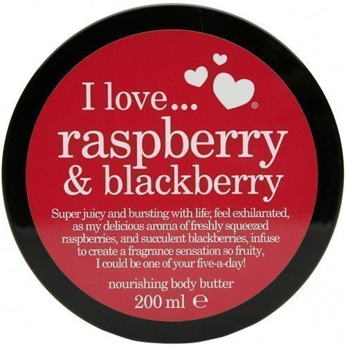 I Love... Raspberry & Blackberry Body Butter