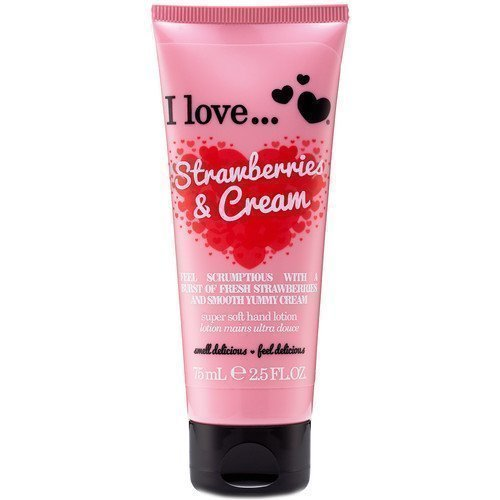I Love... Strawberries & Cream Super Soft Hand Lotion