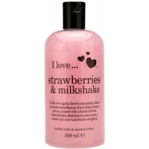 I Love... Strawberries & Milkshake Bath & Shower Crème