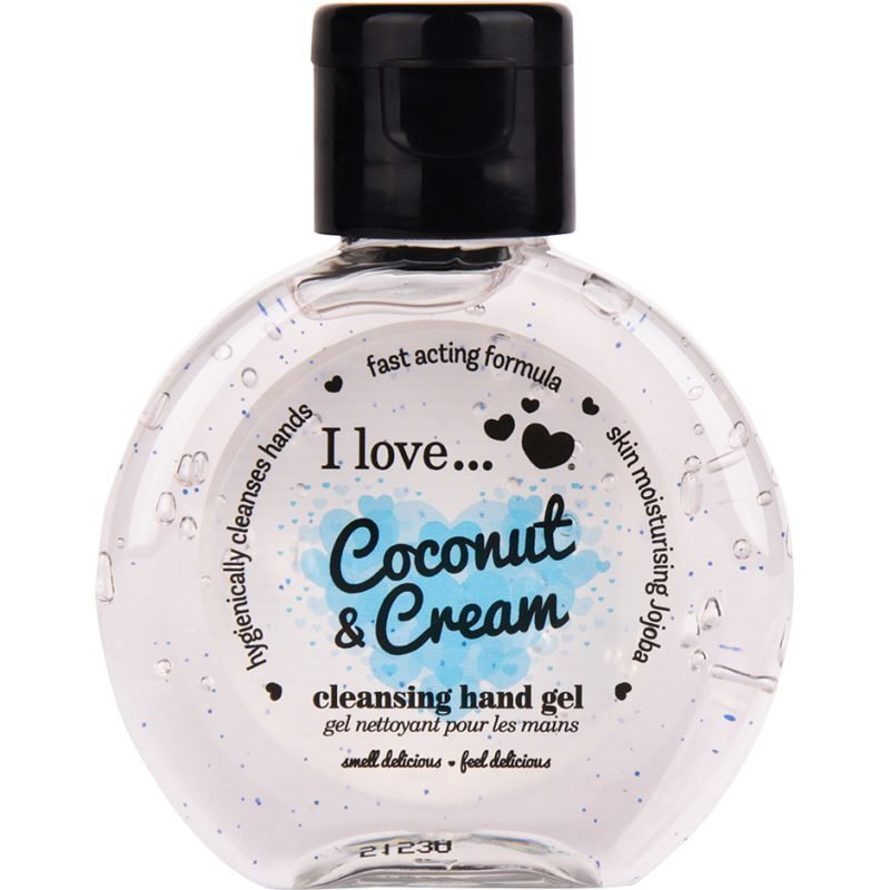 I love… Coconut & Cream Cleansing Hand Gel 65ml