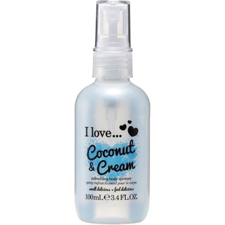 I love… Coconut & Cream Refreshing Body Spritzer 100ml