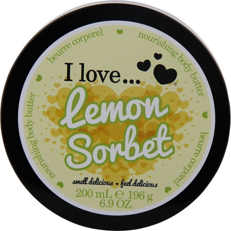 I love… Lemon Sorbet Body Butter 200ml