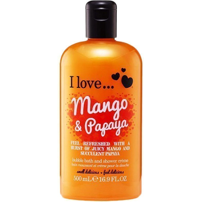 I love… Mango & Papaya Bubble Bath & Shower Créme 500ml