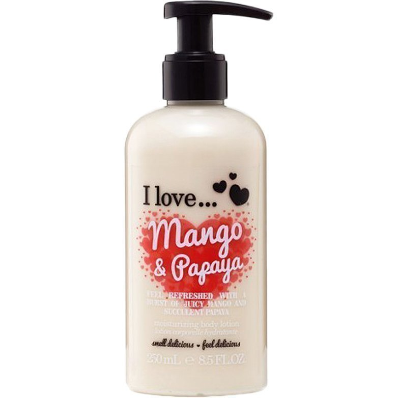 I love… Mango & Papaya Moisturising Body Lotion 250ml