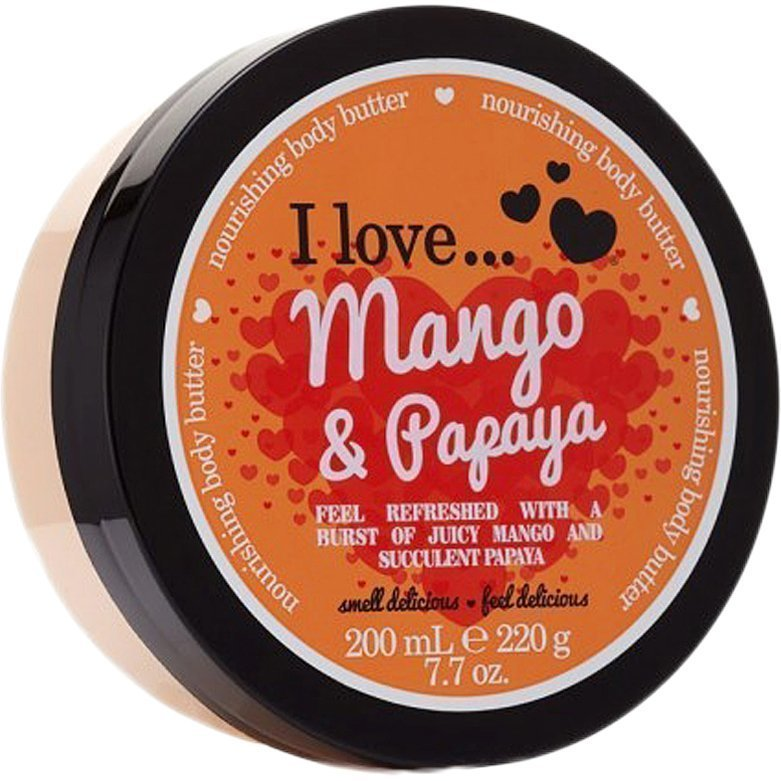 I love… Mango & Papaya Nourishing Body Butter 200ml