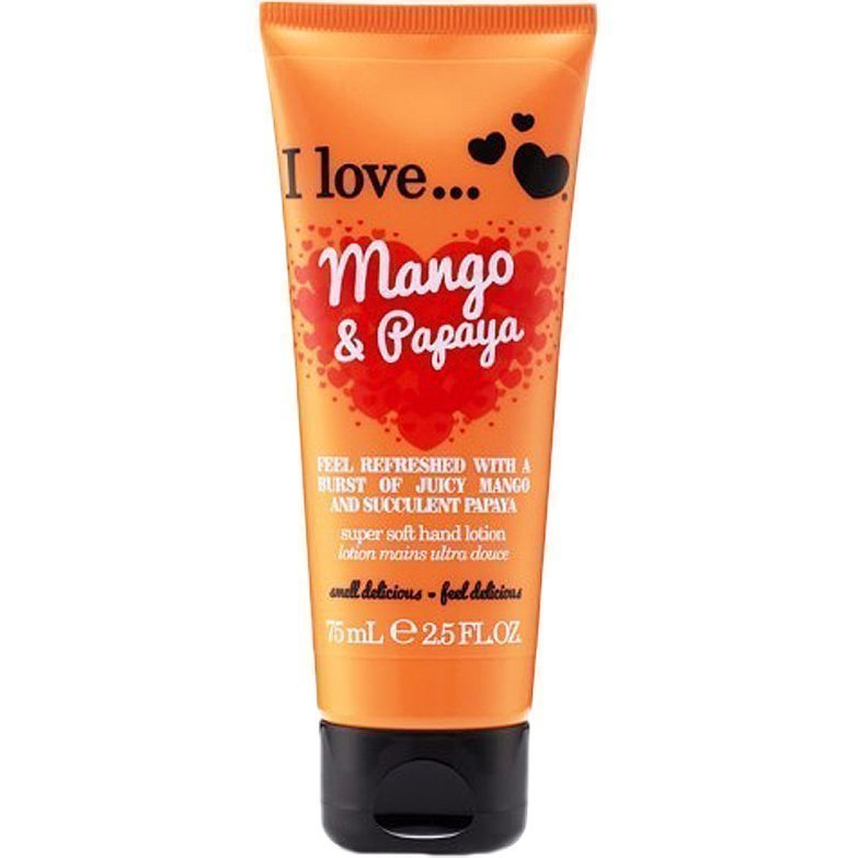 I love… Mango & Papaya Super Soft Hand Cream 75ml
