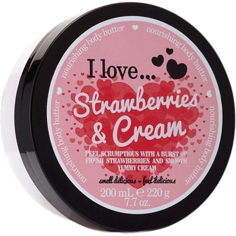 I love… Strawberries & Cream Nourishing Body Butter 200ml