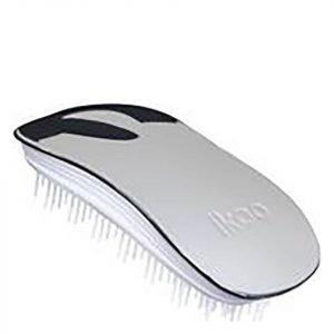 Ikoo Home Hair Brush White Oyster Metallic