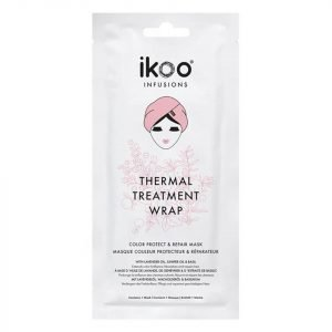 Ikoo Infusions Thermal Treatment Hair Wrap Color Protect And Repair Mask 35 G
